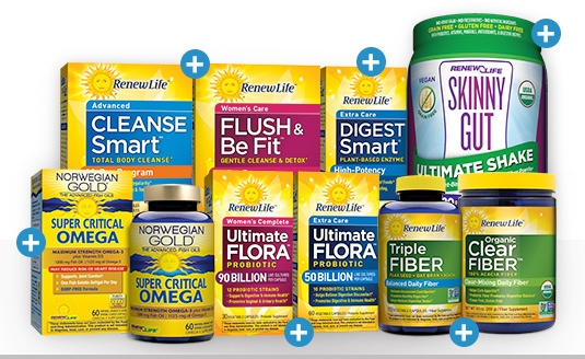Bestselling Renew Life Products