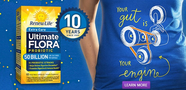 Ultimate Flora Probiotics | Your gut is your engine