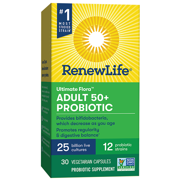 Adult 50+ Probiotic 25 Billion