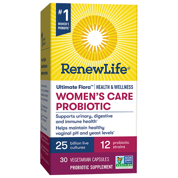 Women's Care Health & Wellness Probiotic 25 Billion