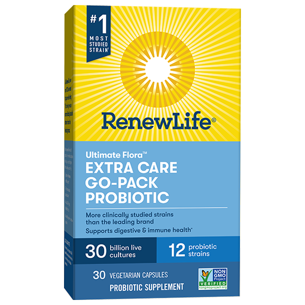 Extra Care Probiotic Go-Pack 30 Billion