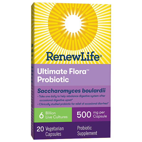 Ultimate Flora Saccharomyces boulardii 6 Billion
