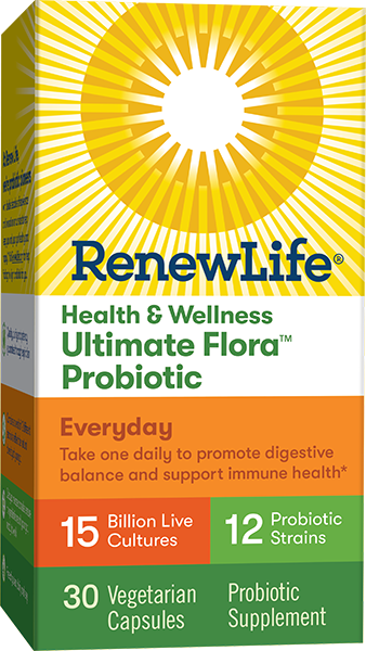 Ultimate Flora Health & Wellness Everyday Probiotic 15 Billion