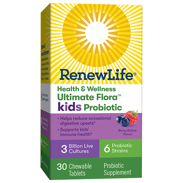 Health & Wellness Ultimate Flora Kids Probiotic 3 Billion