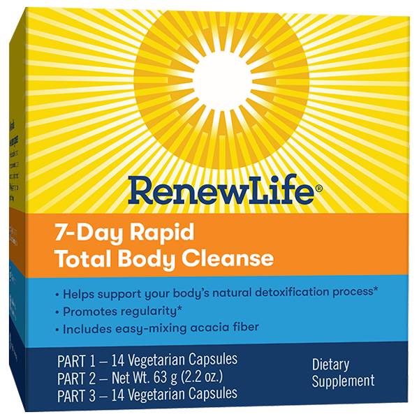 7-Day Rapid Total Body Cleanse