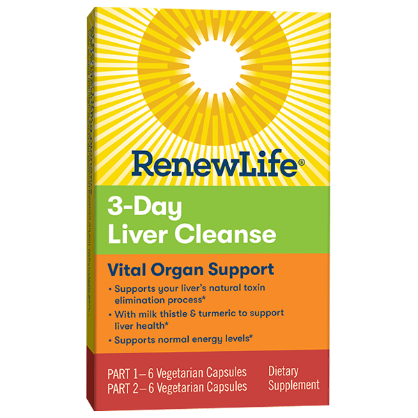 Renew Life 3-Day Liver Cleanse—Vital Organ Support