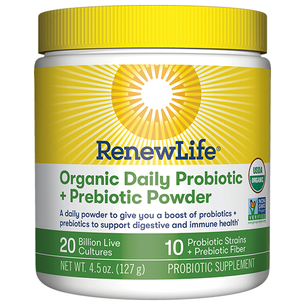 Organic Daily Probiotic + Prebiotic Powder