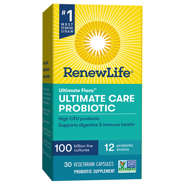 Ultimate Flora Ultimate Care Probiotic 100 Billion