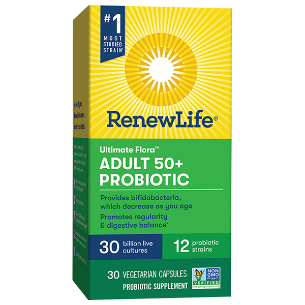 Adult 50+ Probiotic 30 Billion