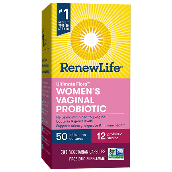 Ultimate Flora Women's Vaginal Probiotic 50 Billion