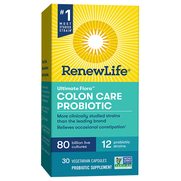 Ultimate Flora Colon Care Probiotic 80 Billion