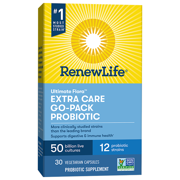 Extra Care Probiotic Go-Pack 50 Billion