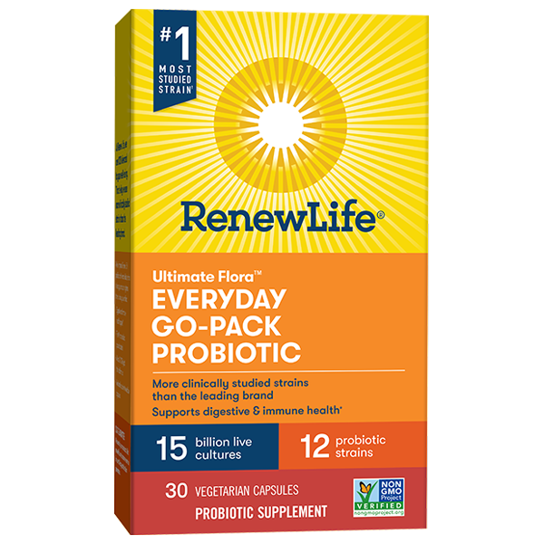 Everyday Go-Pack Probiotic 15 Billion