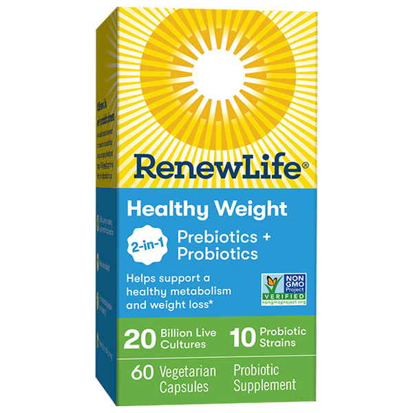 Healthy Weight 2-in-1 Prebiotics + Probiotics