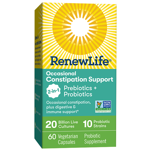 Occasional Constipation Support 2-in-1 Prebiotics + Probiotics