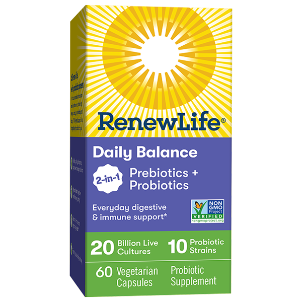 Daily Balance 2-in-1 Prebiotics + Probiotics