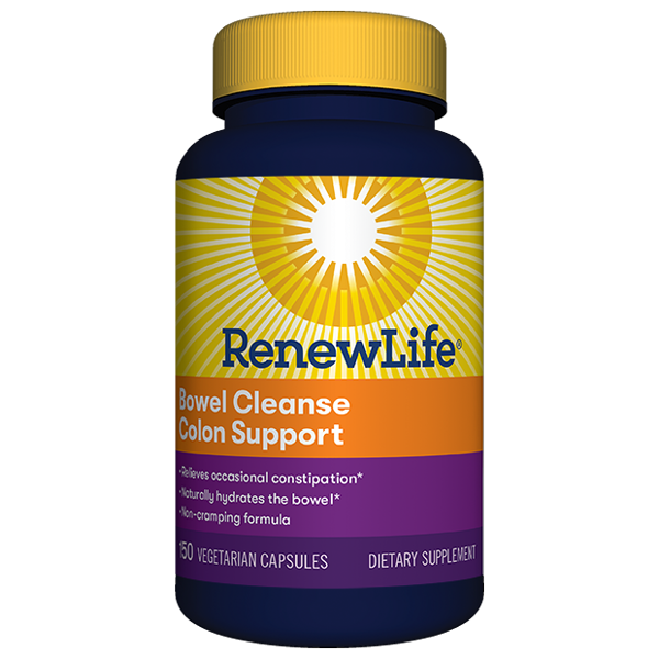 Bowel Cleanse Colon Support (Capsules)