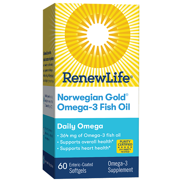 Norwegian Gold Omega-3 Fish Oil Daily Omega
