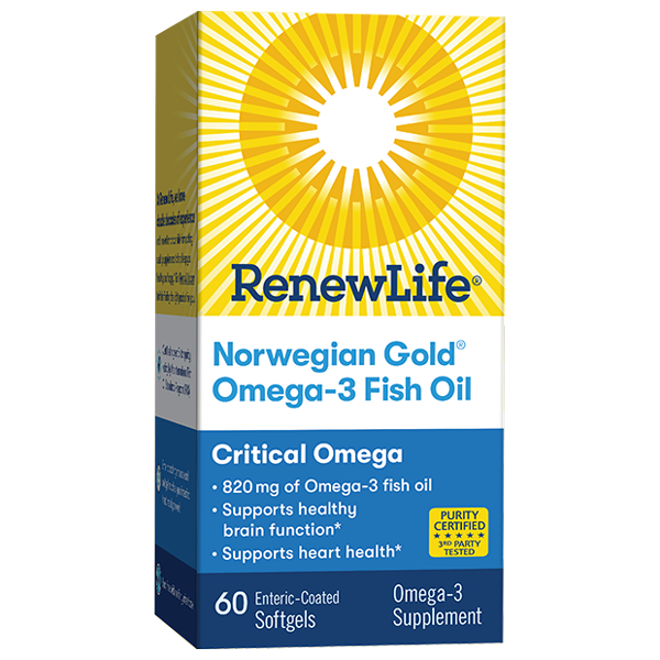 Norwegian Gold Omega-3 Fish Oil Critical Omega