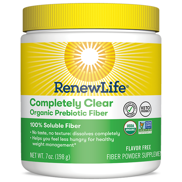 Completely Clear Organic Prebiotic Fiber