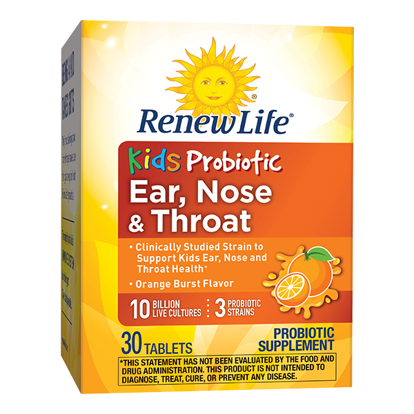 Renew Life Kids Ear, Nose & Throat Probiotic