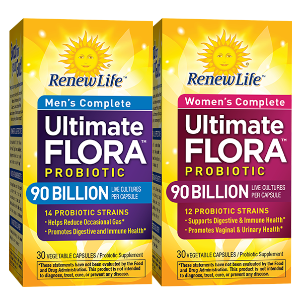 His & Hers Ultimate Flora Probiotic Bundle
