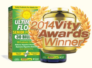 2014 Excellence in Specialty/Herbal Supplement—Probiotic or Enzyme